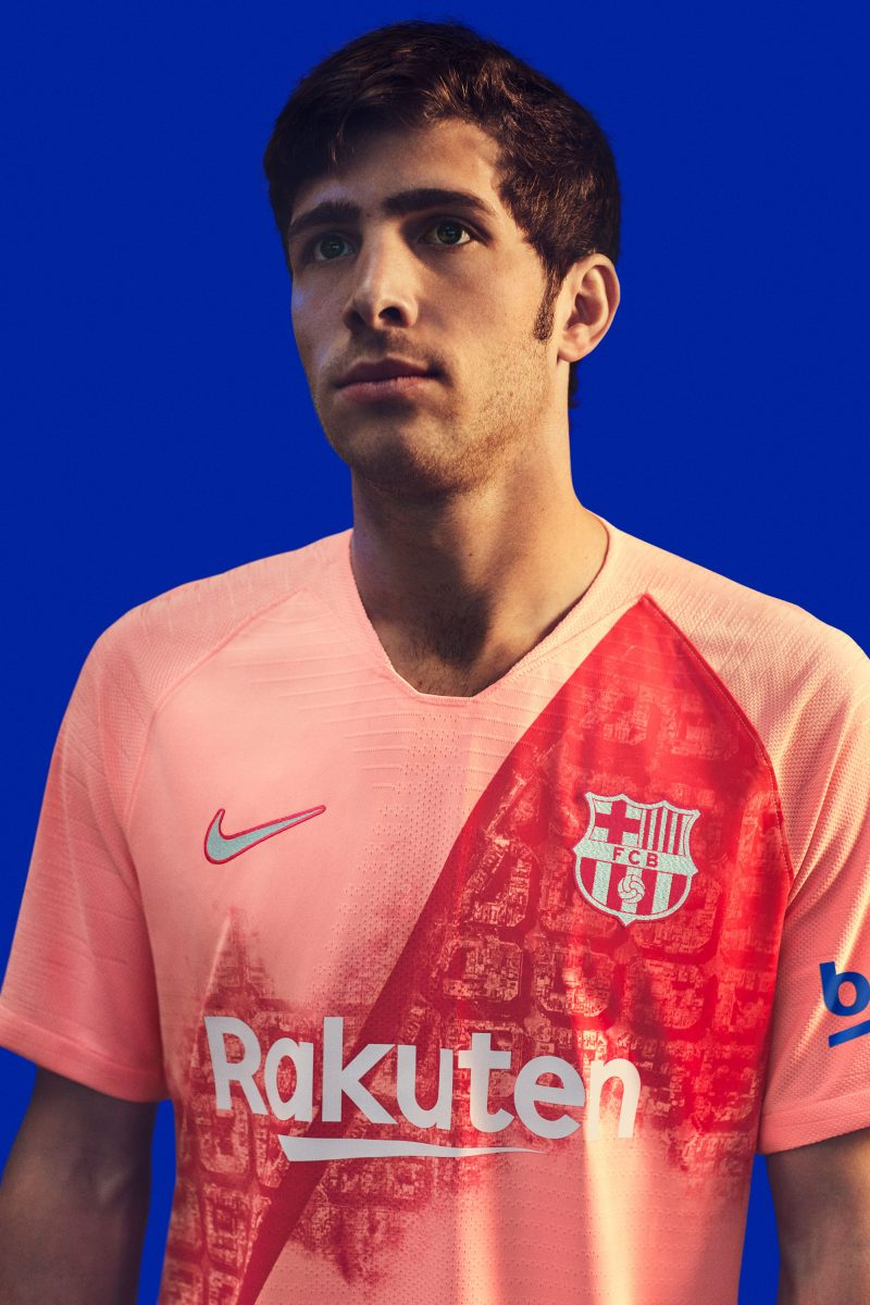 da1e8dae2 The 2018-2019 FC Barcelona third kit will be available now on nike.com and  at official stores and select retailers.