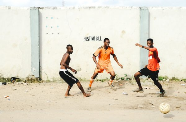 These Photos Document Football Culture on the Streets of Lagos