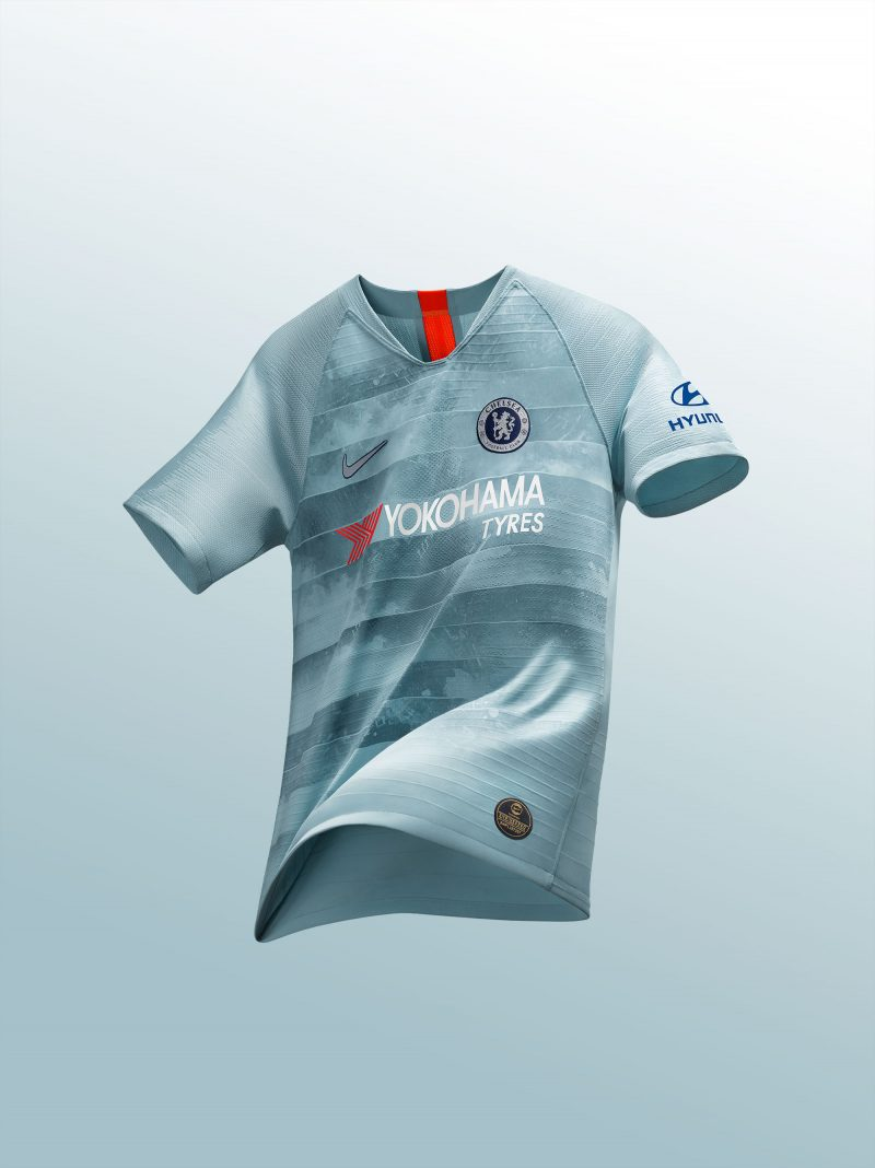 Nike Unveil Chelsea s Innovative NikeConnect Third Shirt for 2018 19 7d32b9656