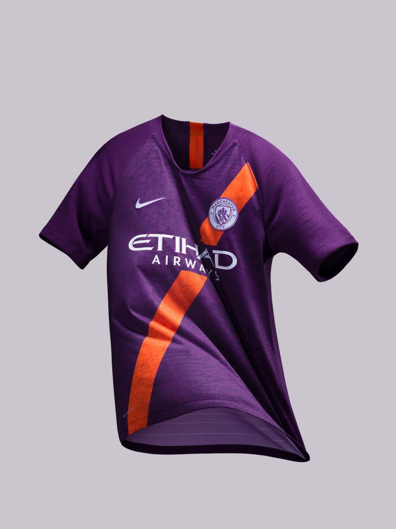 reputable site afe53 4d7f1 Nike Bring Back the Sash for Manchester City's Purple 2018 ...