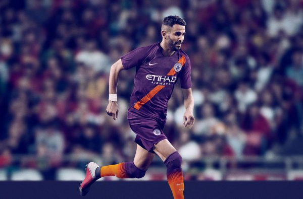 Nike Bring Back the Sash for Manchester City's Purple 2018/19 Third Kit