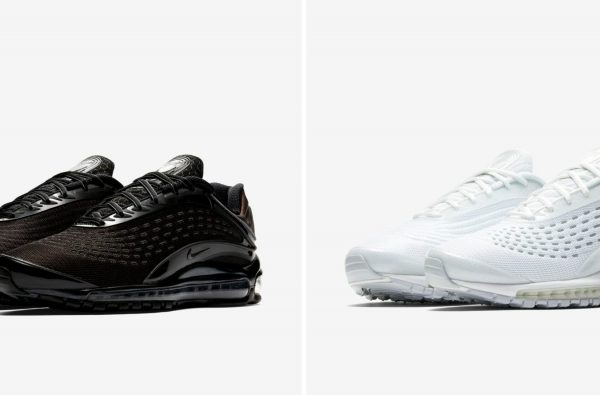 Here's How to Cop the New Triple White and Black Editions of the Nike Air Max Deluxe