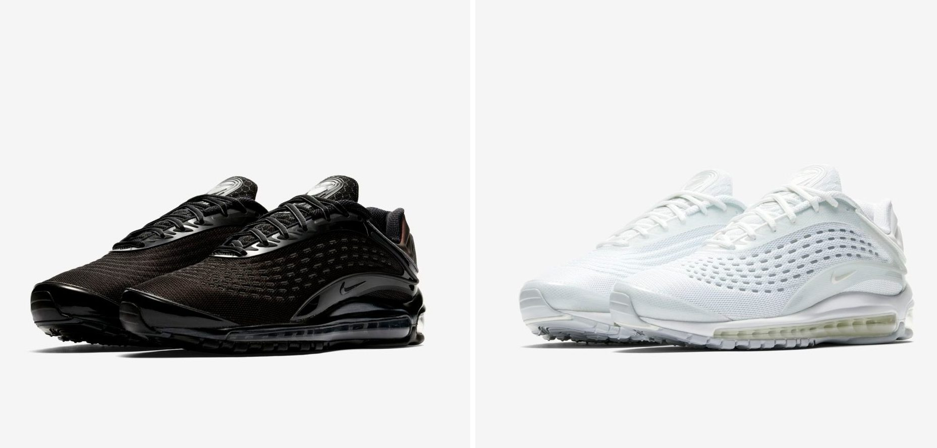 info for af672 ecebb ... Triple White and Black Editions of the Nike Air Max Deluxe. An absolute  must-cop. By Jacob Davey. September 12th 2018. Images via Nike