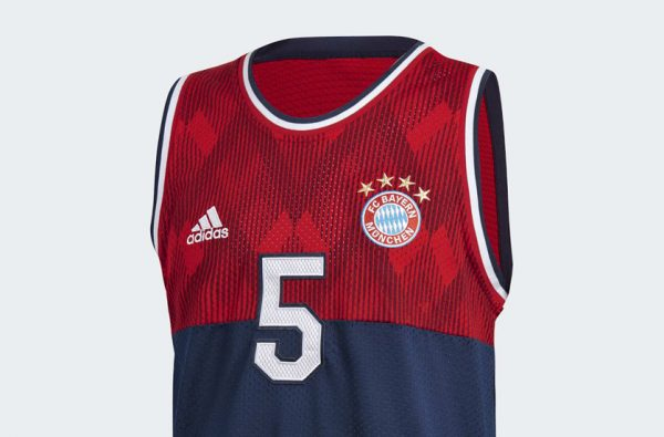 adidas are Dropping Basketball Jerseys for Man United, Juventus, Bayern Munich and Real Madrid