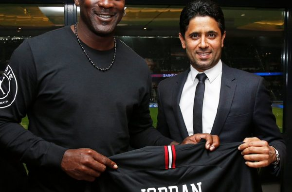 Michael Jordan Went to His First PSG Game Last Night and Wore the Jordan x PSG Collection