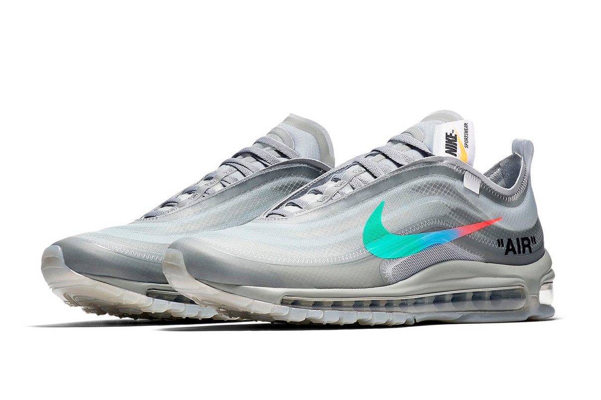 pretty nice 2b4ec a02d6 The Off-White x Nike Air Max 97
