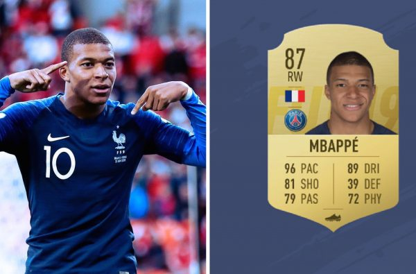 Kylian Mbappé Has Been Revealed as the Fastest Player in FIFA 19
