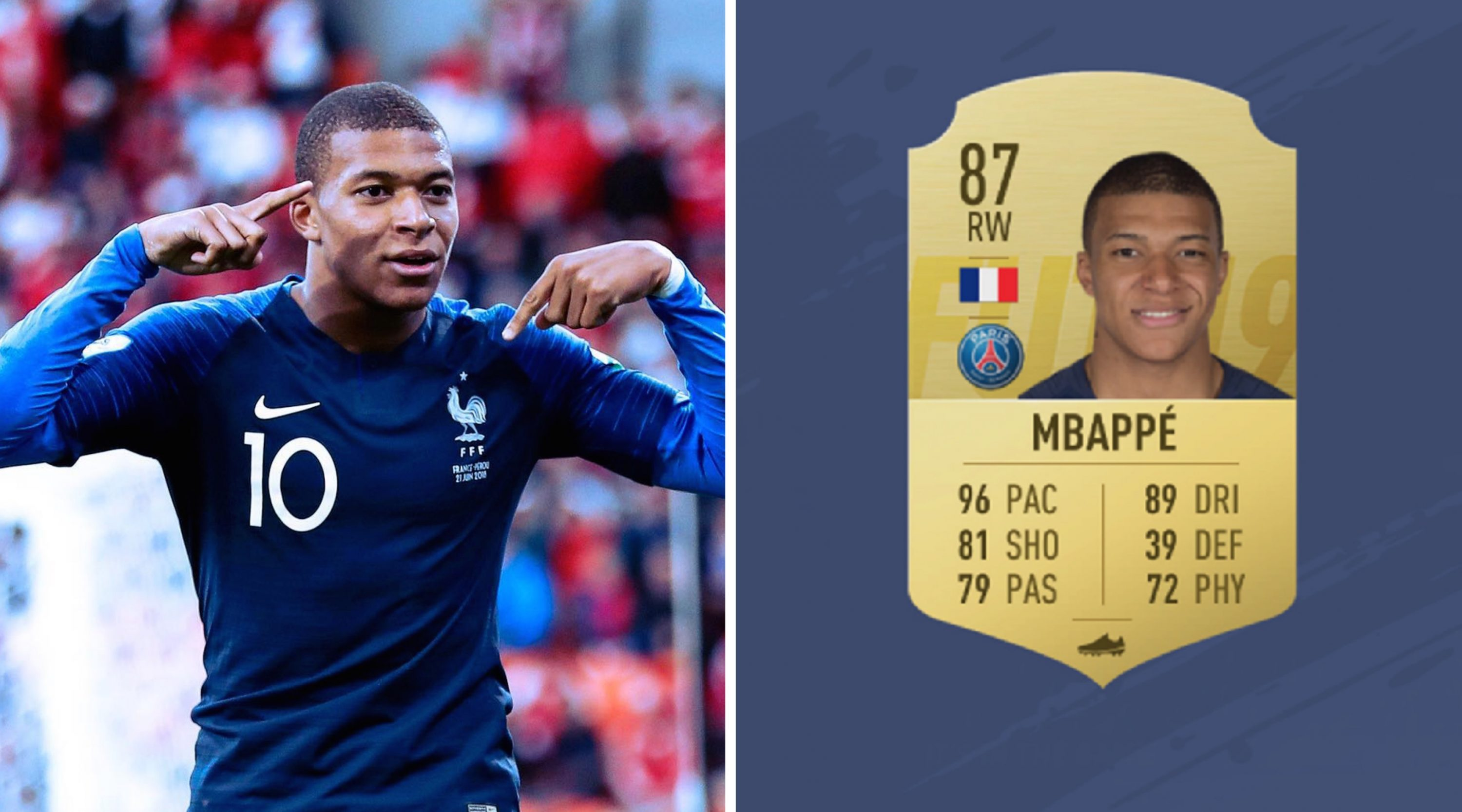 Image result for kylian mbappe fifa 19