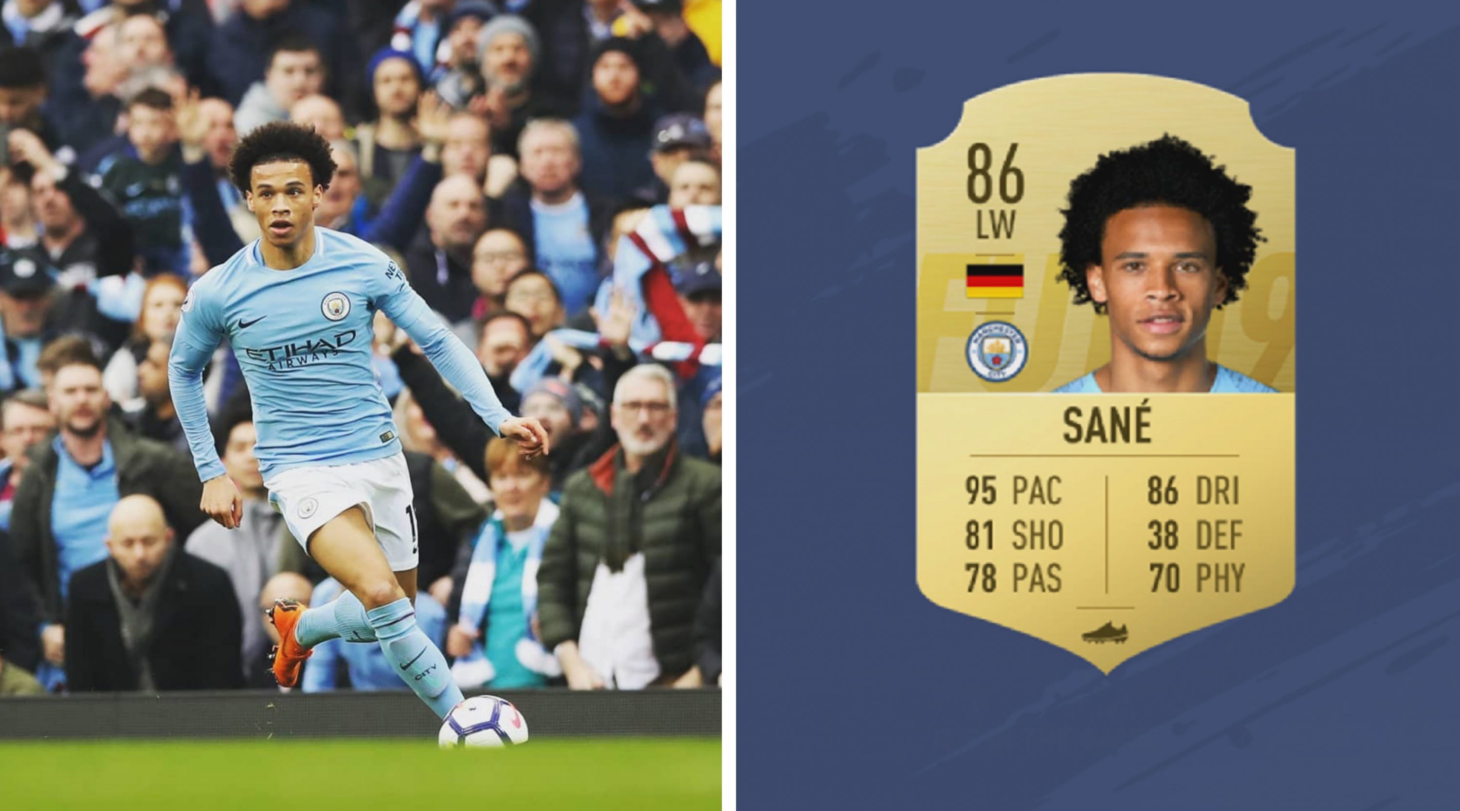 Image result for Leroy Sane fifa 20