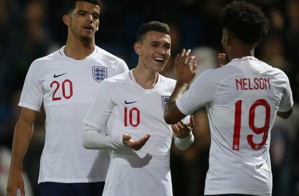 England U21s Qualified for the European Championships with a 7-0 Win over Andorra