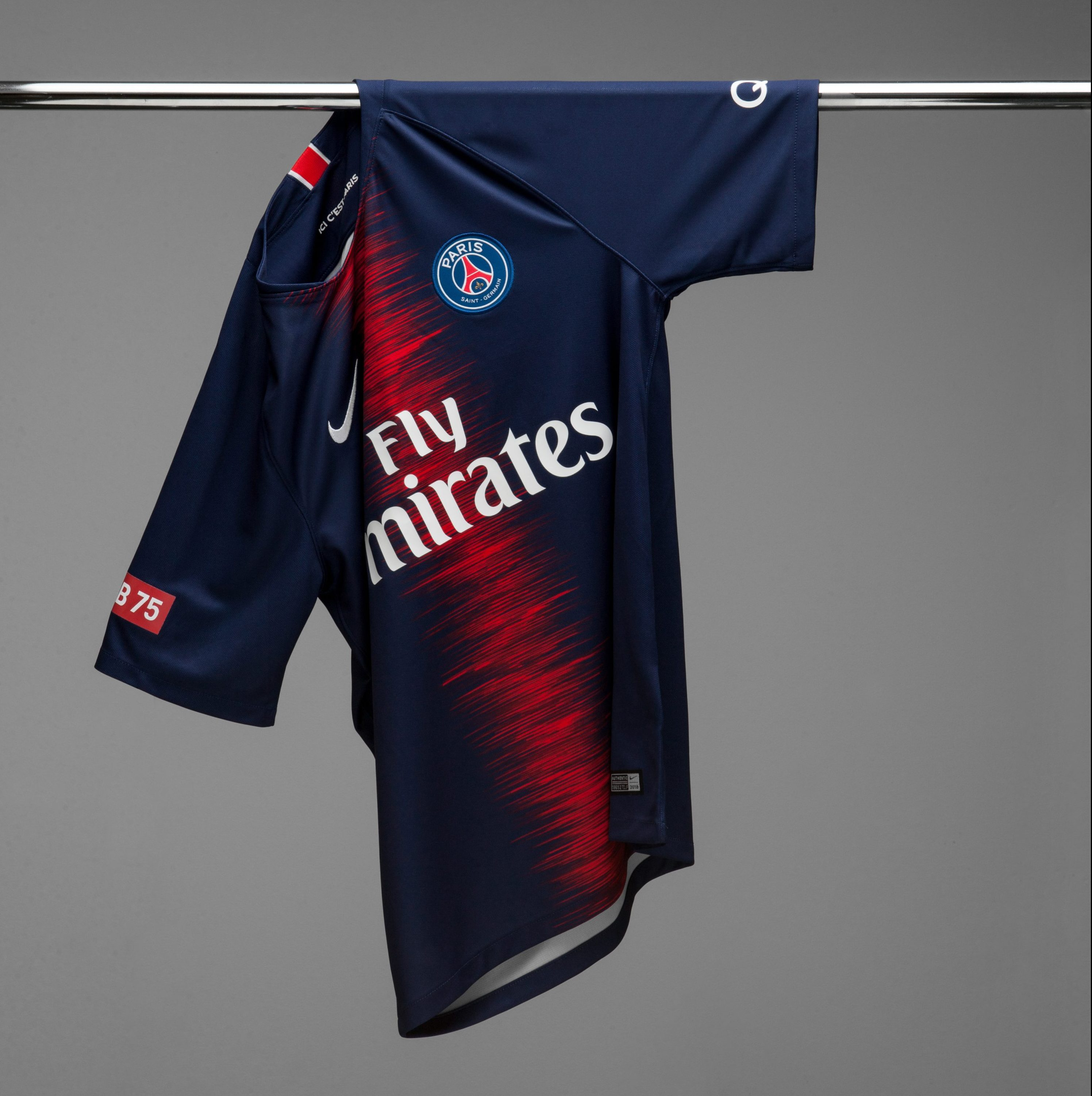 b5d16294843 Paris Saint-Germain and Club 75 Link Up for New Capsule Collection. Ed  Bangers. By Jacob Davey. October 4th 2018. Image via Publicist