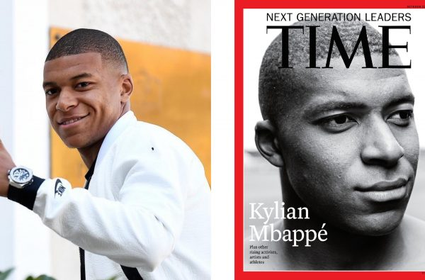 "db6a60b6d56 Kylian Mbappé Covers TIME Magazine for Its ""Next Generation Leaders"" Issue"