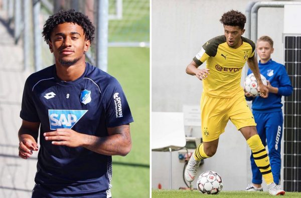 Reiss Nelson Shares a Message to Jadon Sancho Over Instagram After Their Bundesliga Clash