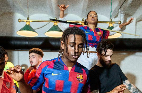 Nike And Barcelona Have Created a Wavey Mash-Up Jersey to Celebrate their 20th Anniversary