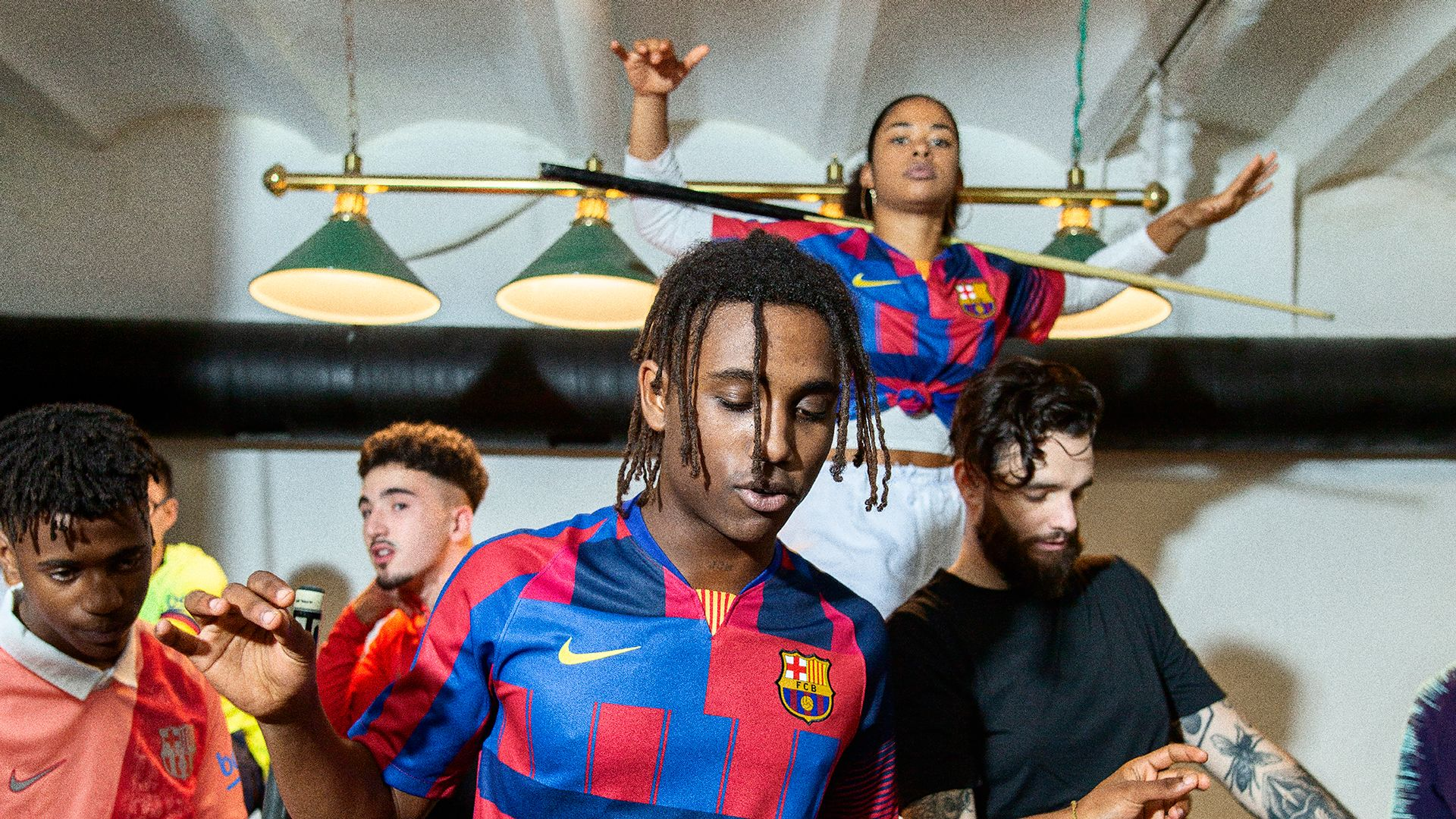 more photos 1c24b 37054 Nike And Barcelona Have Created a Wavey Mash-Up Jersey to ...