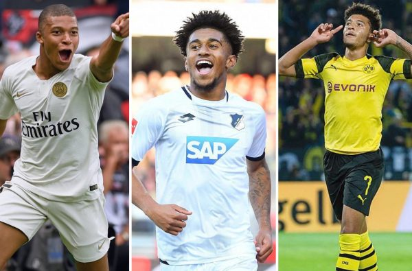 Jadon Sancho and Reiss Nelson Join Kylian Mbappé as the Most Prolific Teenagers in Europe This Season
