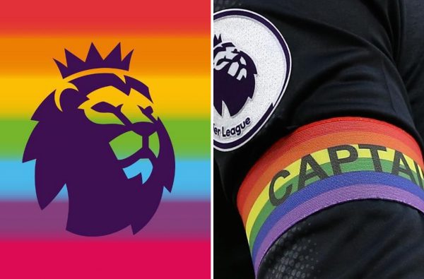The Premier League Is Dedicating Two Rounds of Fixtures to Support LGBT People in Football