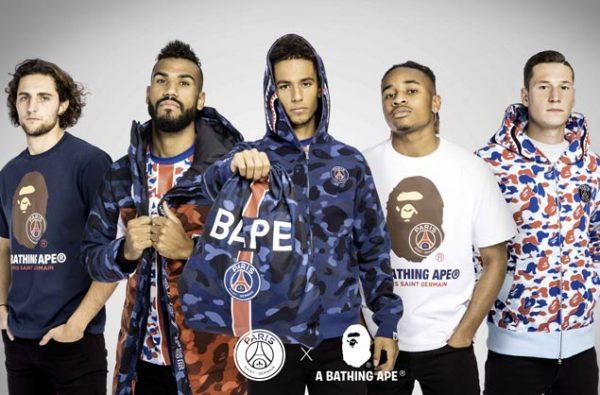 Paris Saint-Germain Announce New BAPE Collaboration Capsule