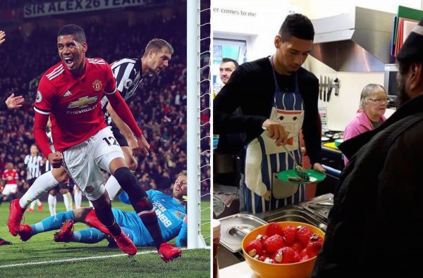 Chris Smalling Is Celebrating His 29th Birthday by Raising £29k for a Homeless Charity in Manchester