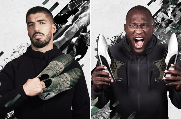 PUMA Drop the Camo-Inspired 'Attack Pack' for Suarez, Lukaku and Aguero