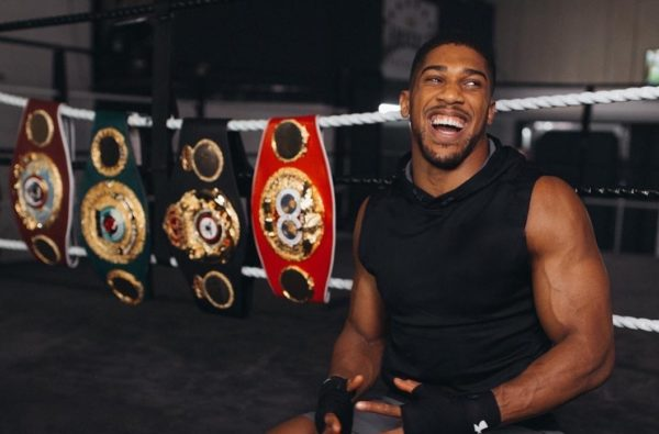 Anthony Joshua has Just Been Awarded an OBE