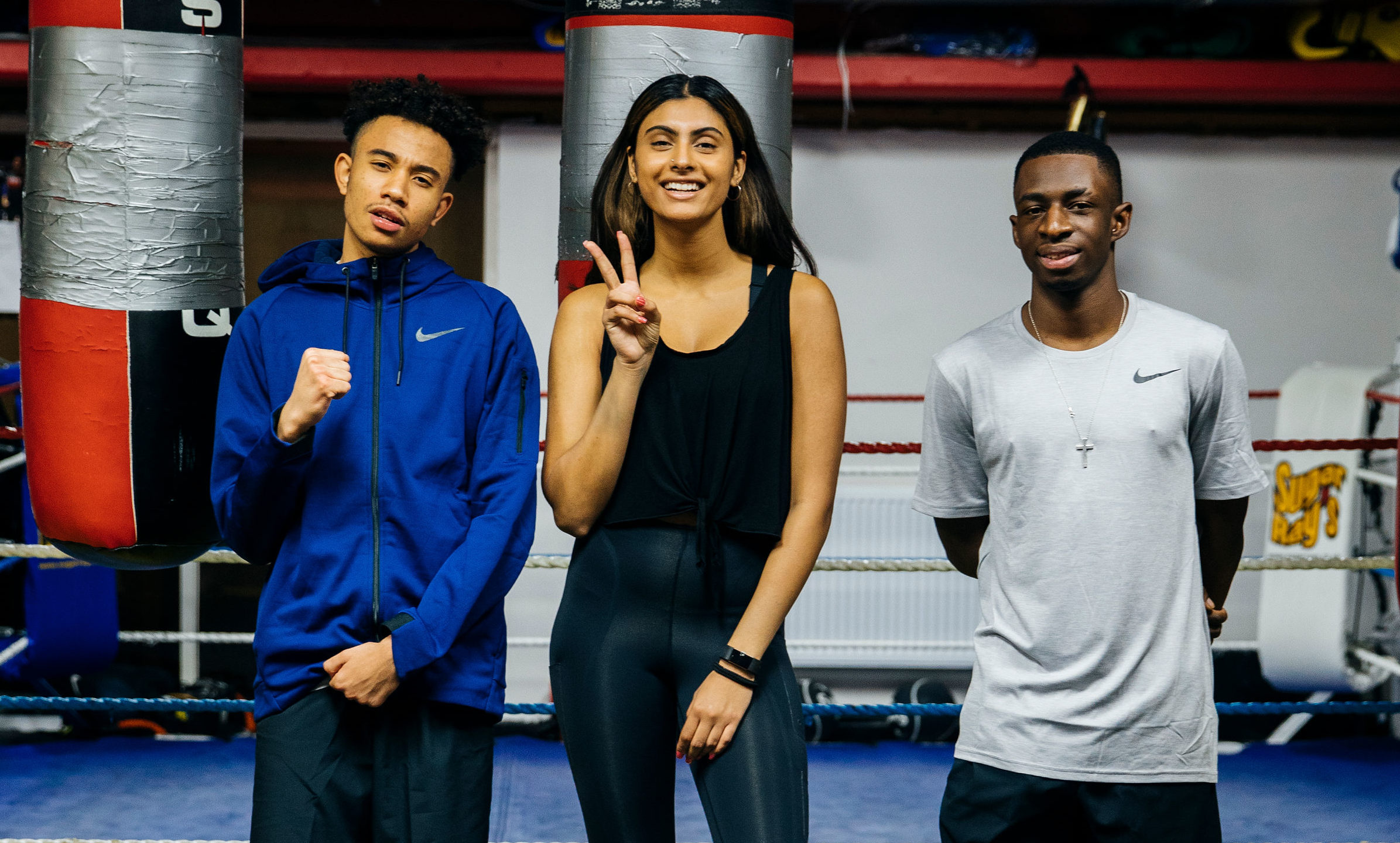 Nike and Joshua Buatsi Challenged Three Influential Young Londoners to Train Like a Pro Boxer