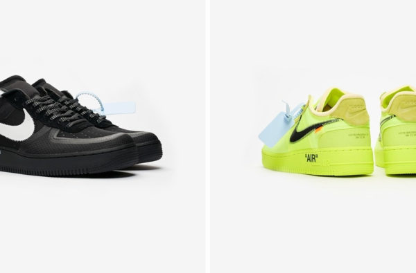 "Here's How to Cop The Off-White Nike Air Force 1 ""Black"" and ""Volt"""