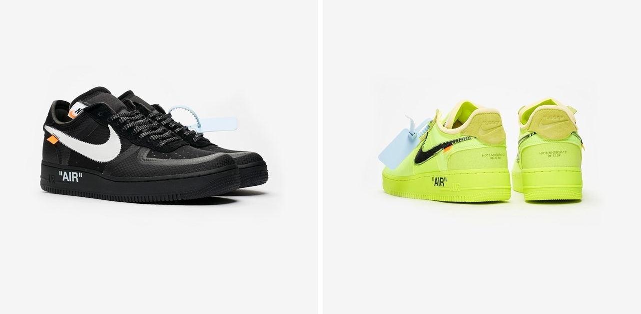 Here's How to Cop The Off White Nike Air Force 1