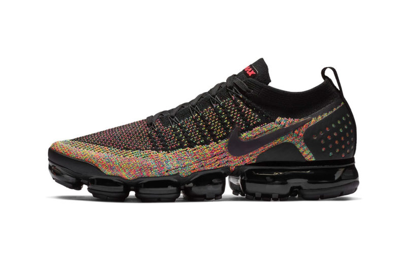 "innovative design 819b4 1e21b The Nike Air VaporMax Flyknit 2.0 ""Multi-Colour"" model will hit select  retailers and Nike s online shop soon for around £150."