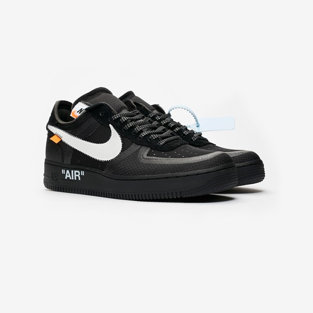 """c9d59206a4048c You can cop the """"Black Cone  and """"Volt"""" Off Wwite AF1 sneakers for £149  from the Nike Sneakrs app and SneakersNStuff on December 19th."""