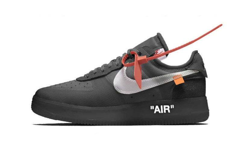 fd7858e63c9d The Off-White x Nike Air Force 1 Low