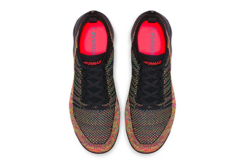 """designer fashion 5f0cb 462ca The Nike Air VaporMax Flyknit 2.0 """"Multi-Colour"""" model will hit select  retailers and Nikes online shop soon for around £150."""