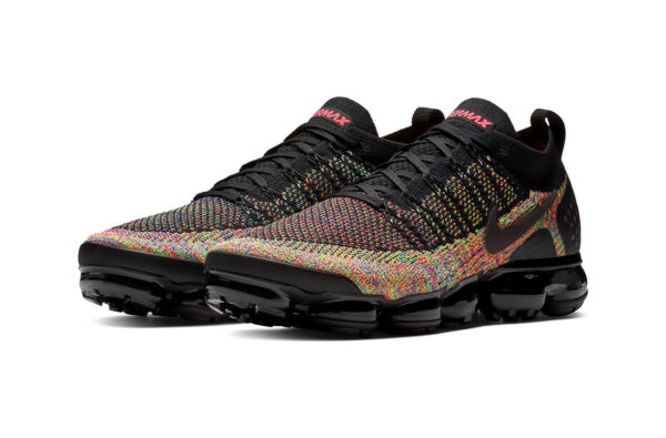 """Nike's Air VaporMax Flyknit 2.0 is Dropping in a Fire """"Multi-Colour"""" Edition"""