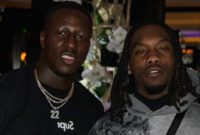 Benjamin Mendy Links Up with Offset at Paris Fashion Week