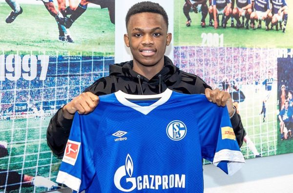 Wales Teenager Rabbi Matondo has Joined Schalke from Manchester City