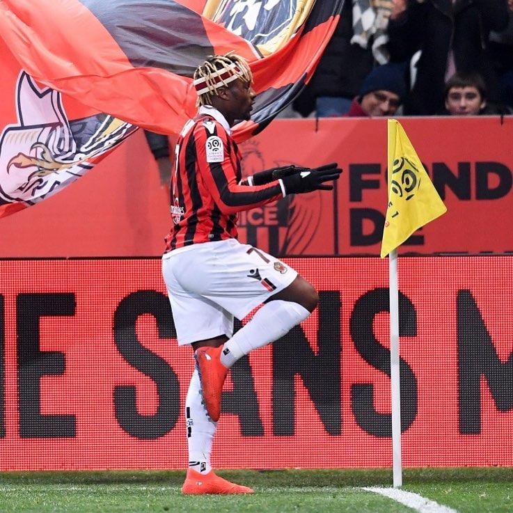 Allan Saint Maximin Actually Donned A Gucci Headband In A Ligue 1 Match