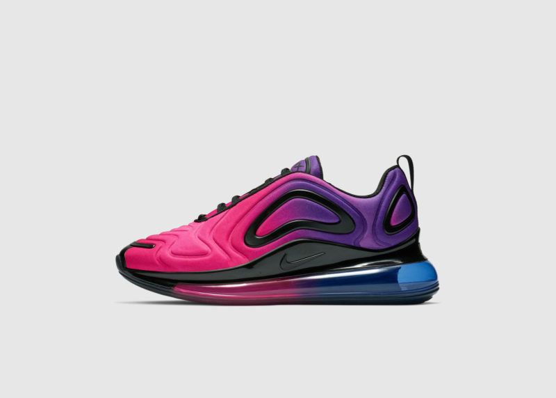 """official photos a4873 31902 The Nike Air Max 720 """"Northern Lights"""" colorways release February 1 in  limited quantities at select Nike stores, the SNKRS and SNEAKRS apps and  select ..."""