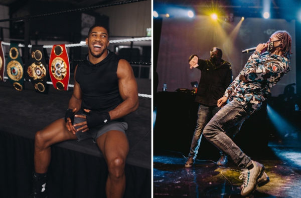 "Anthony Joshua Has Chosen Russ's ""Gun Lean"" for his Next Ring Walk Anthem"
