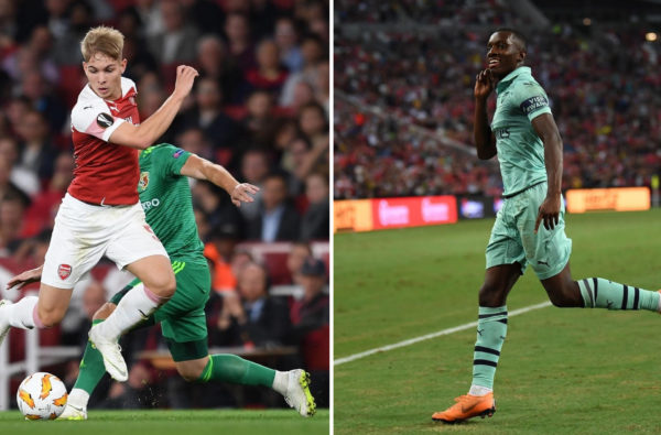 Emile Smith-Rowe and Eddie Nketiah are Heading to the Bundesliga for the Rest of the Season