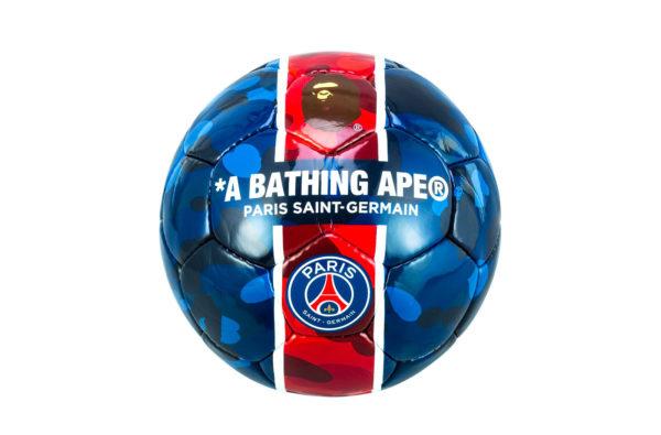 BAPE and Paris Saint-Germain Drop New Camouflage Football