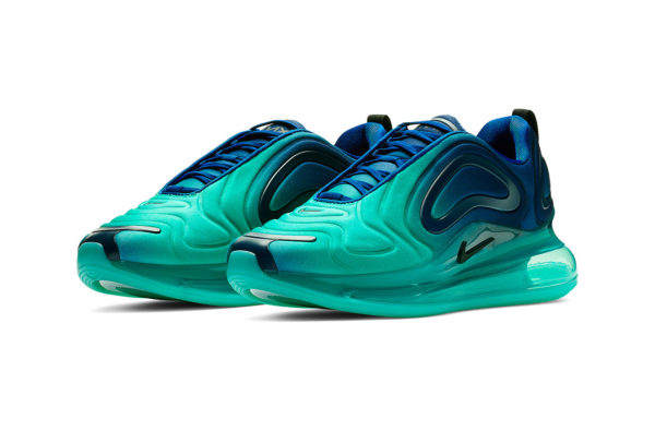 """Nike's Air Max 720 Gets Dripped in Striking """"Green Carbon"""" Colourway"""