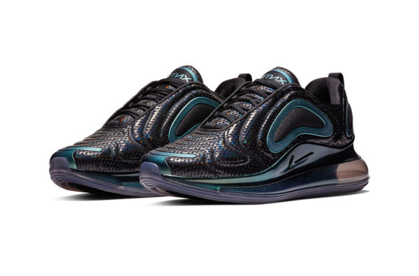 """Nike are Dropping Their Upcoming Air Max 720  in a Fire """"Iridescent Mesh"""" Colourway"""