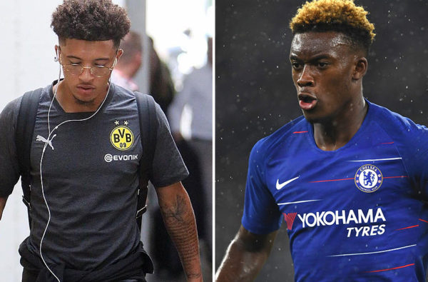 Jadon Sancho Reveals the Advice He Gave to Callum Hudson-Odoi