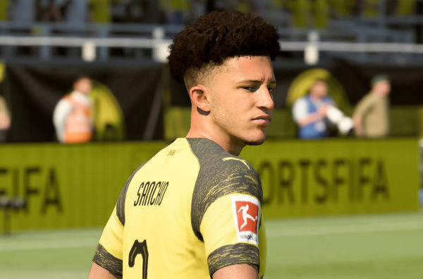 "Jadon Sancho Just Received Upgraded Stats and His First Ever ""Game Face"" in FIFA 19"