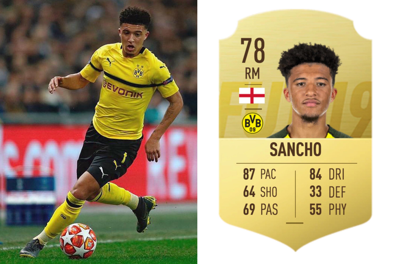Fifa 19 Sancho