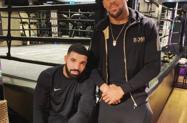 Drake Touched Down in the UK and Linked Up with Anthony Joshua for some Boxing Training