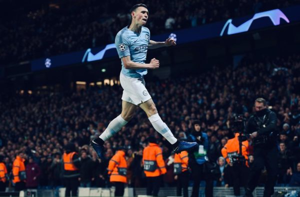 Phil Foden Just Became England's Youngest Ever Champions League Knockout Stage Goal Scorer