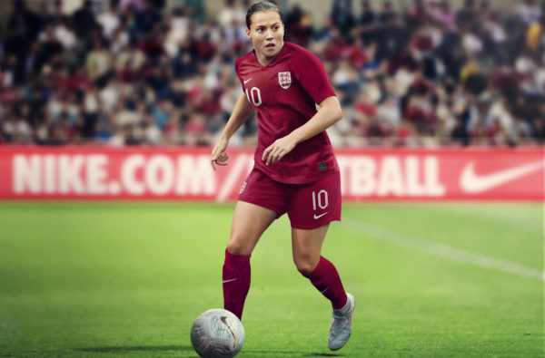 Nike Unveil the First-Ever Bespoke England Women's World Cup Kits