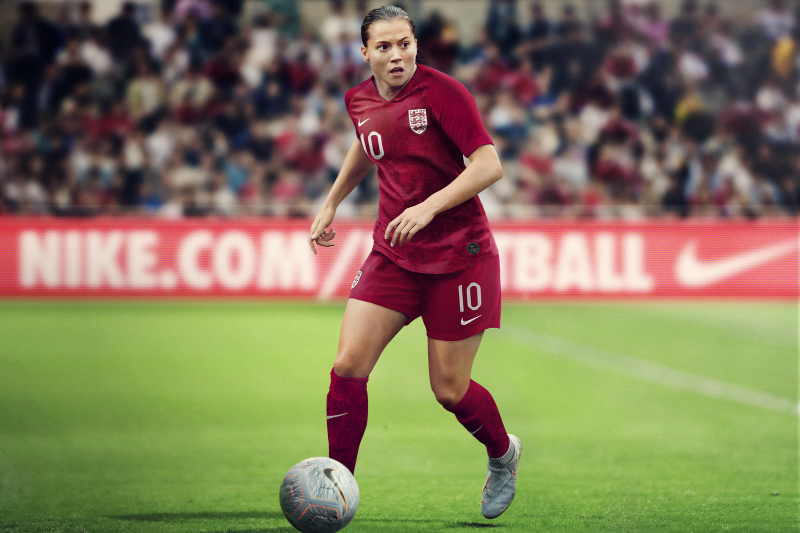 ba985fbc9d1 Nike Unveil the First-Ever Bespoke England Women's World Cup Kits