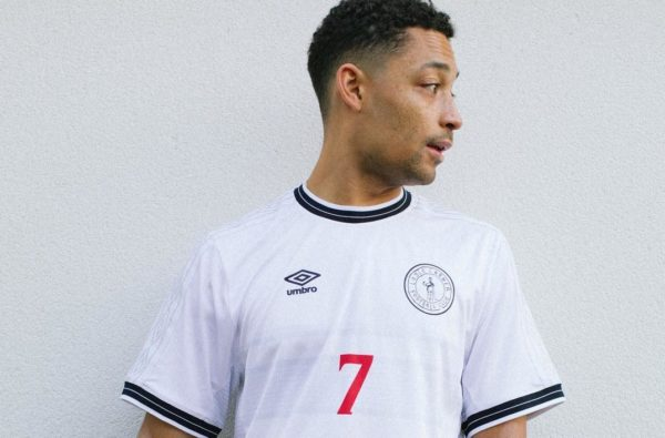 Loyle Carner Links Up With Umbro for Limited-Edition 'Loyle Carner F.C' Shirt